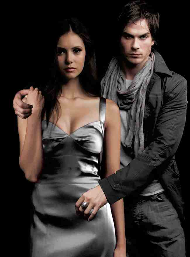 The vire diaries' damon salvatore and elena gilbert the top ten