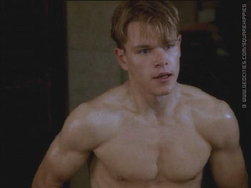Top 100 Celebrities: matt damon shirtless