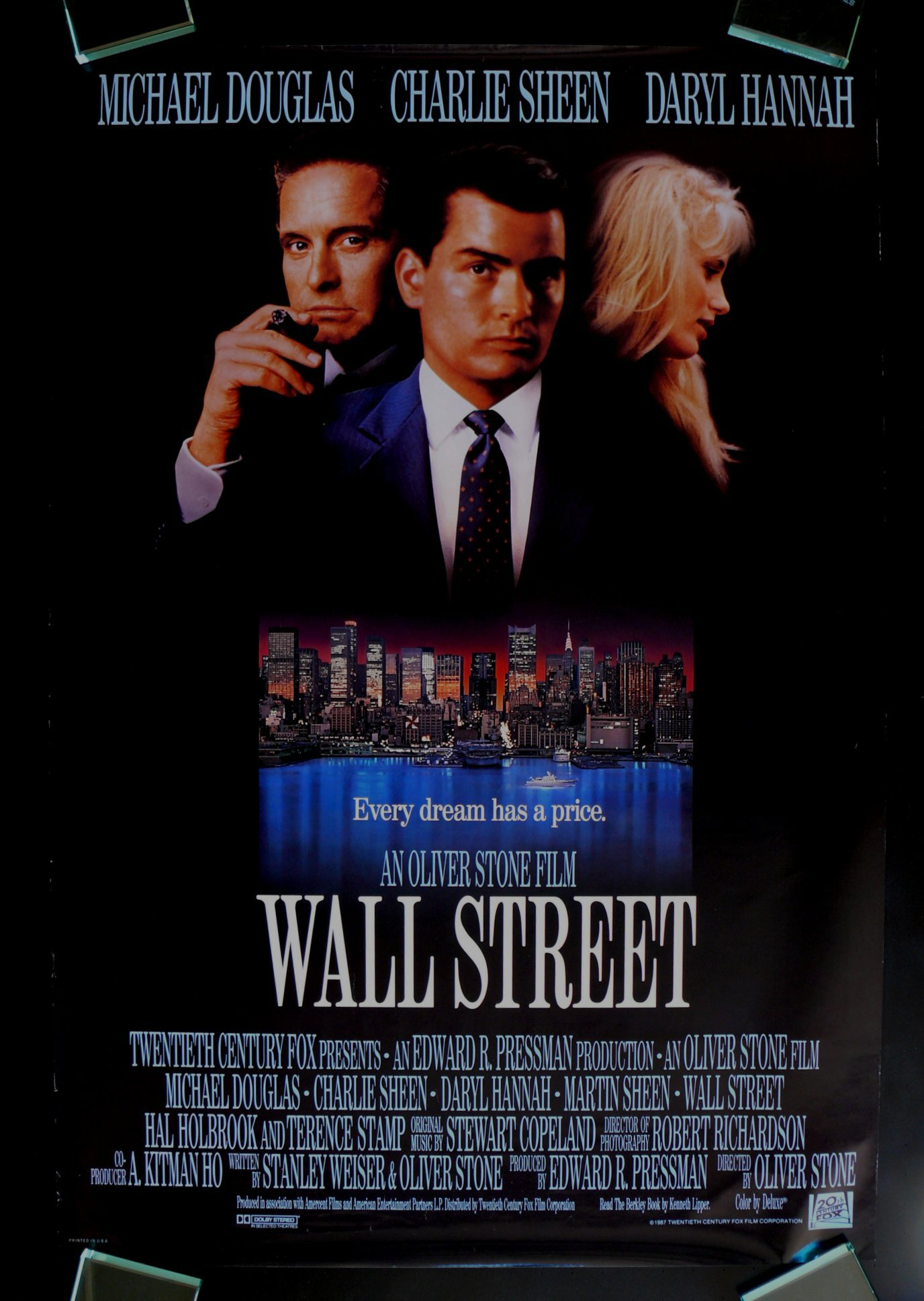 a review of oliver stones 1987 movie wall street Watch trailers, read customer and critic reviews, and buy wall street directed by oliver stone for $999.