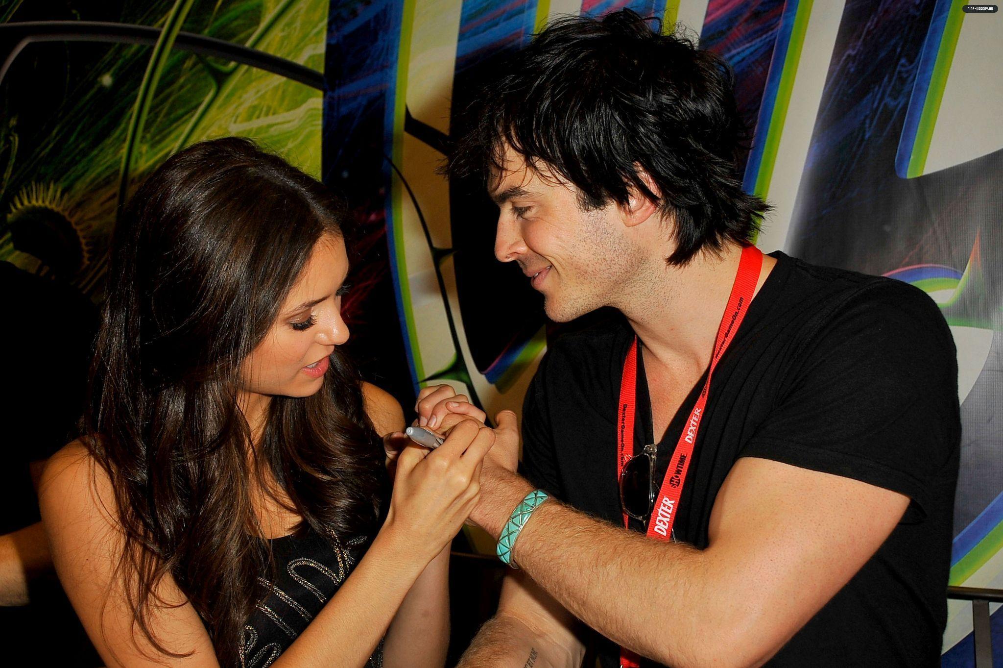 ian somerhalder and nina dobrev dating 2010