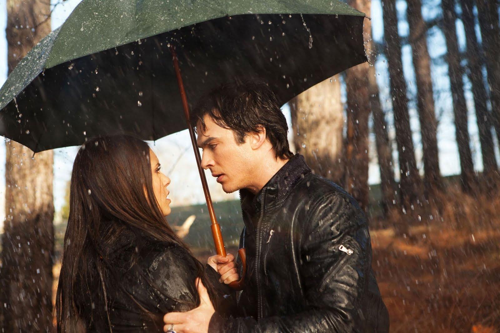 Vampire Diaries Damon and Elena
