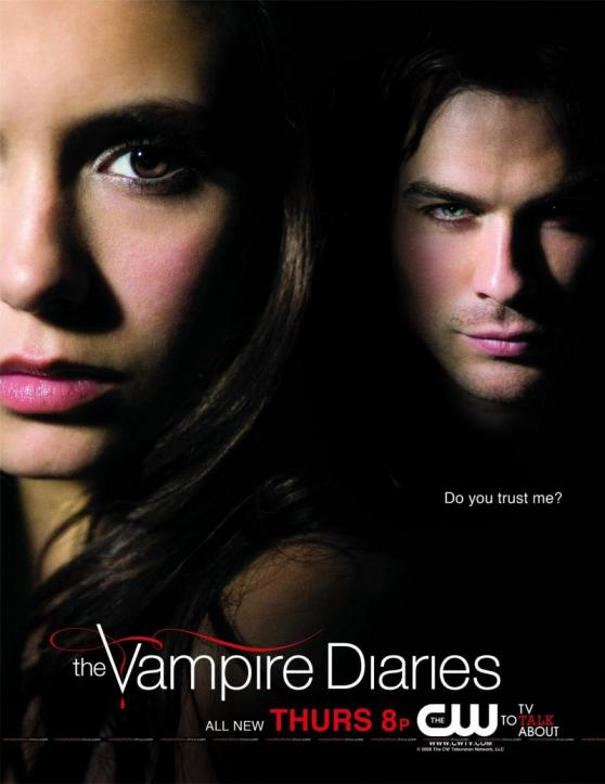 vampire diaries damon and elena kissing. The Vampire Diaries#39; Damon
