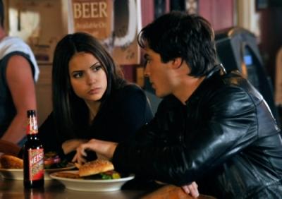 The vampire diaries damon salvatore and elena gilbert for Damon y elena