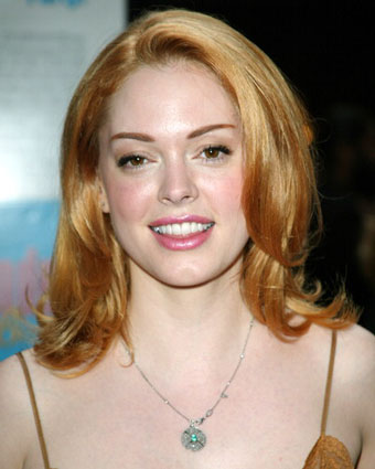 Rose Mcgowan Hair