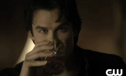2-2 sexy drinking damon