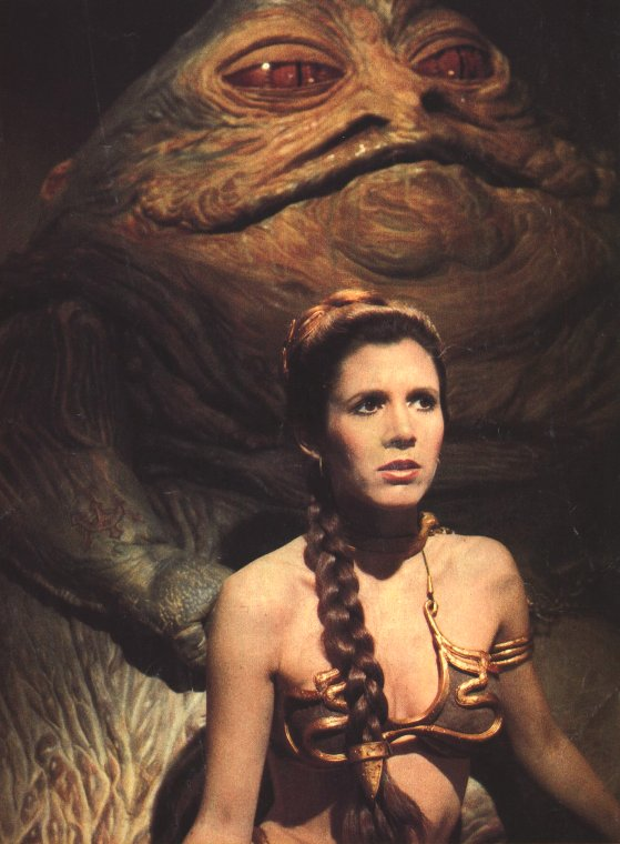 The Princess and the Bass – A Recap of Gossip Girl's ... Jabba The Hutt And Leia