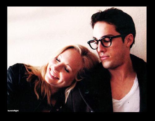 Michael Trevino And Candice Accola Photoshoot