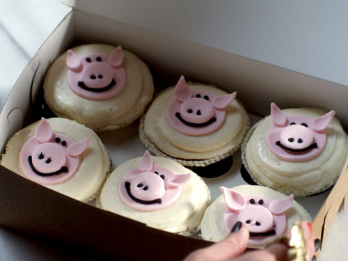 1 13 pig cupcakes