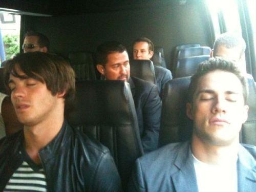 jyler sleeping together