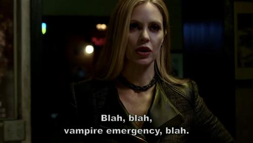 vampire emergency