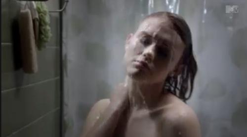 Hot Lesbian Teen In Shower 45