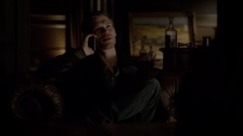 klaus on the phone
