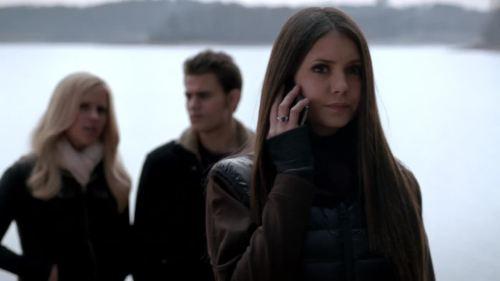 elena on phone 2