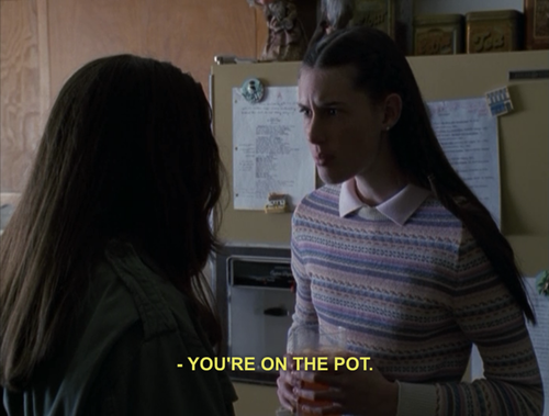 youre on pot