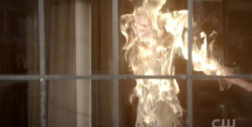 burning elena