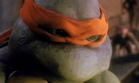 Raphael in the 1990 Teenage Mutant Ninja Turtles film. Michael Bay's Ninja Turtles is due in 2013