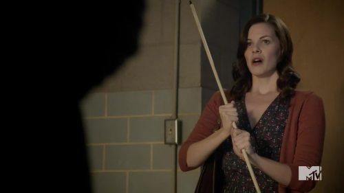 holding stick