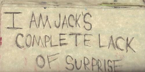 jack's complete lack
