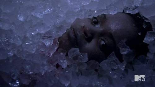 kid in ice