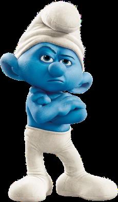 Movie_Grouchy_Smurf