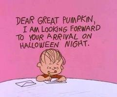 dear great pumpkin