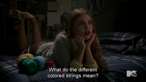 colored strings