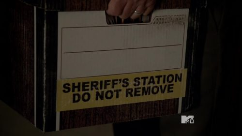 sheriff do not remove