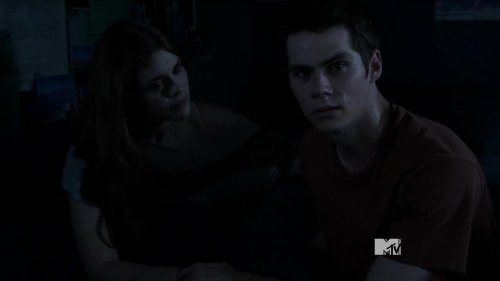 stiles looks at camera