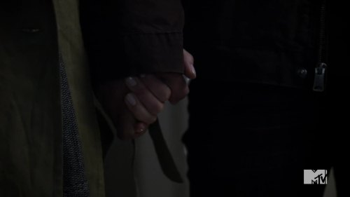 holding hands again