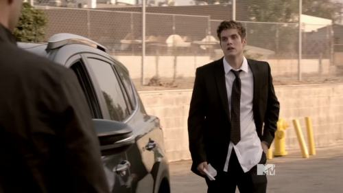 isaac in suit