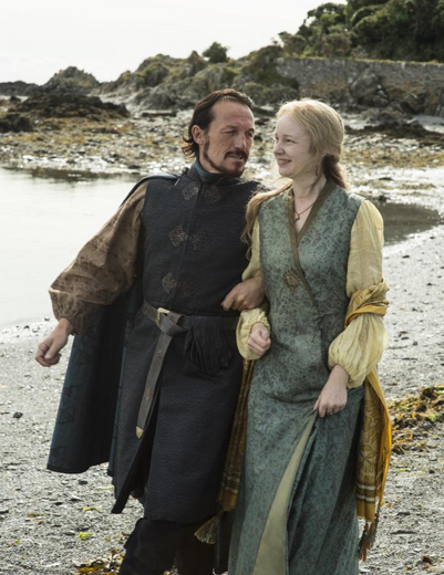 bronn and lady laa